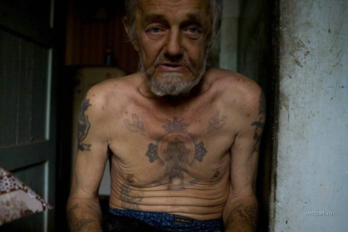 Russian Criminals Body Tattoos