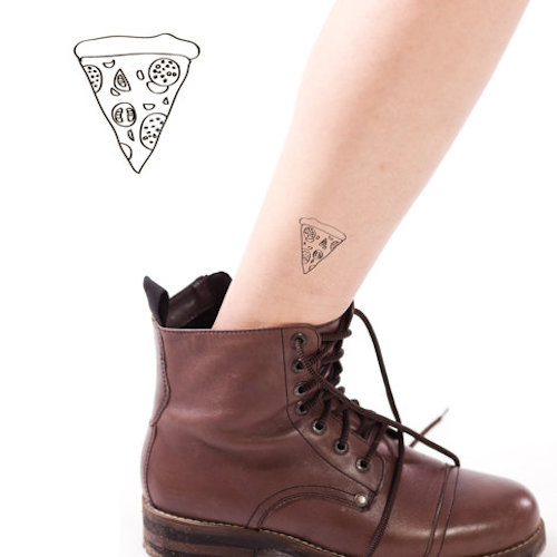 Sacred Pizza Tattoo