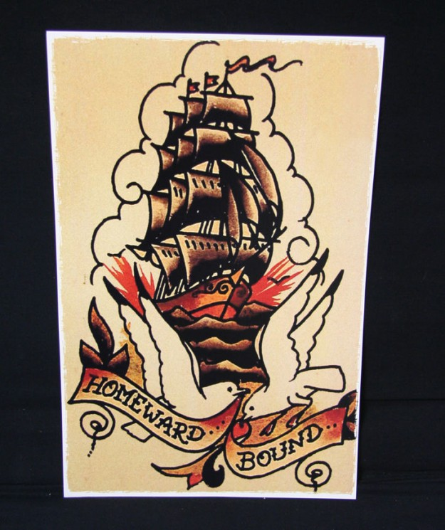 Sailor Jerry Traditional Tattoo Print