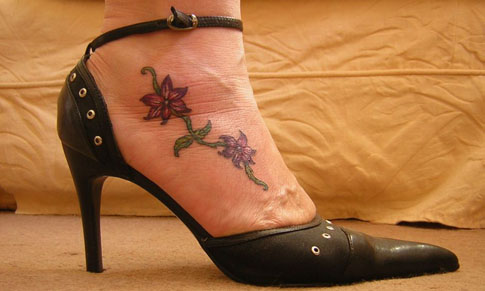 Sexy Orchid Side Rib Tattoo Trend For Girls