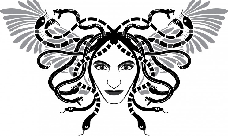 Sicilian Medusa Tattoo Design