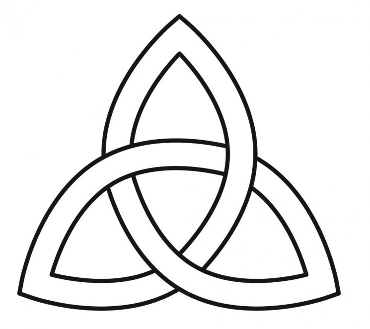 Simple Celtic Knot Tattoo Design