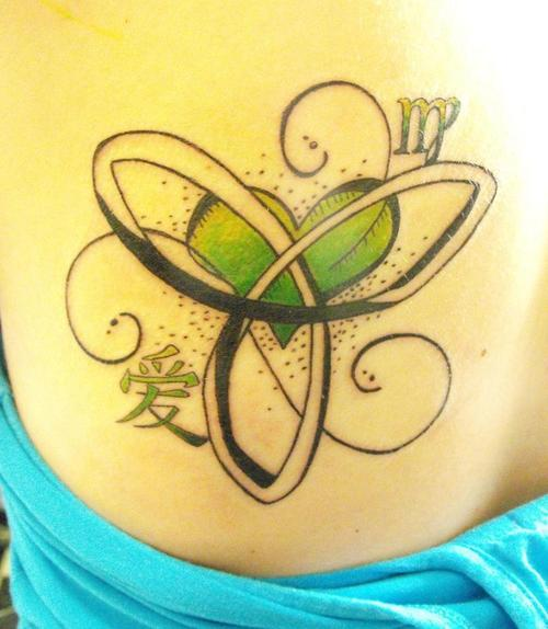 Sister Knot Tattoo For Women