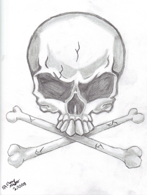 Skull Candle Tattoo Designs
