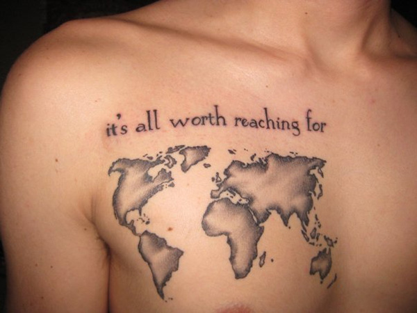 Small world map tattoo for girls photo 3 2017 real photo other photos to small world map tattoo for girls gumiabroncs Image collections