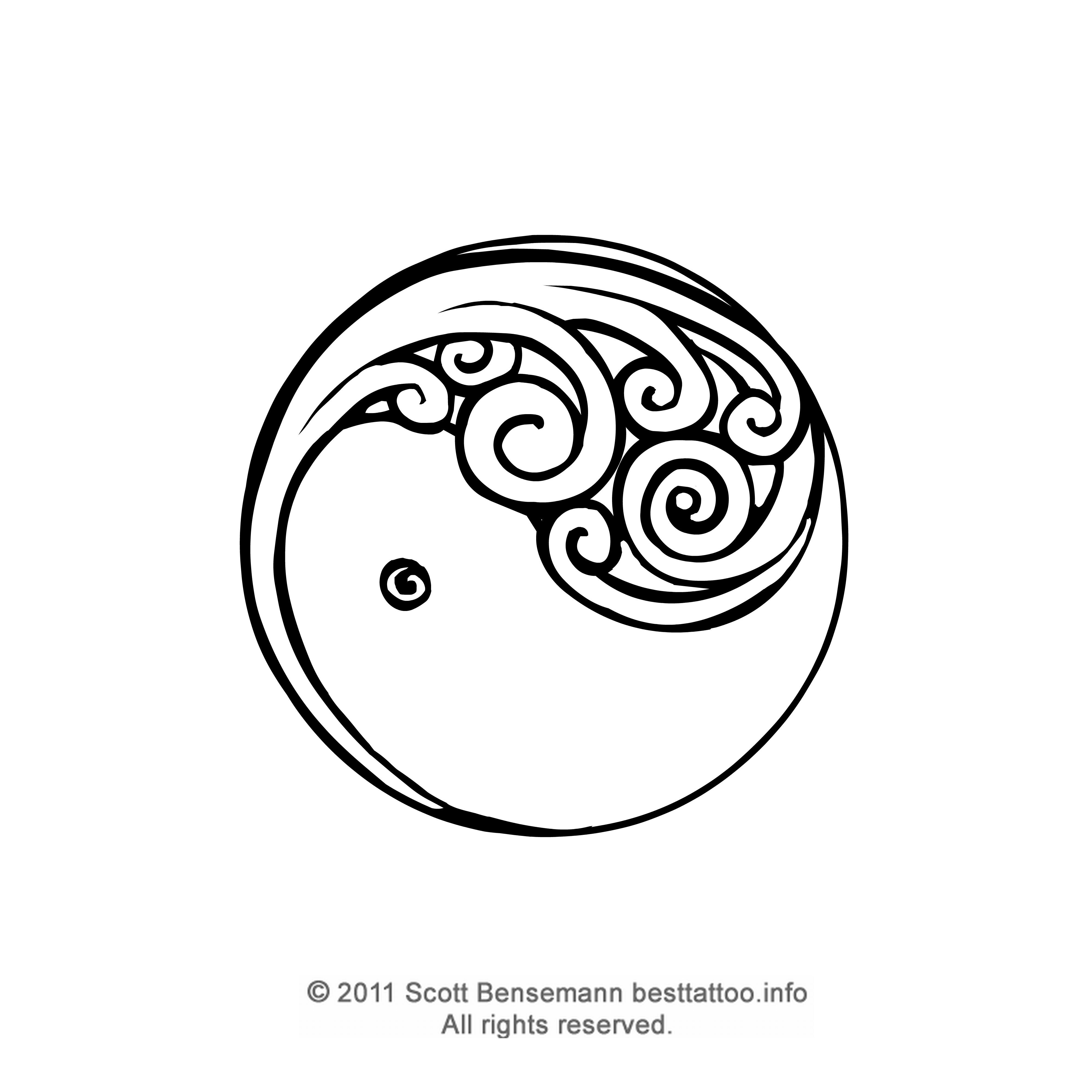 Small Ying Yang Symbol Tattoo In 2017 Real Photo Pictures Images