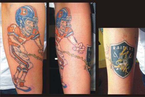 Sports Tattoos For Fans