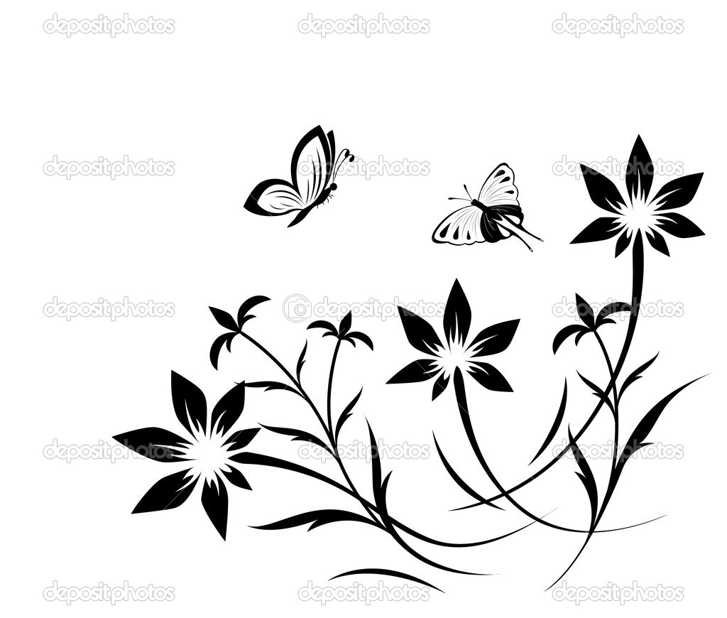 stock vector butterfly tattoo design real photo pictures images