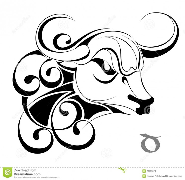 Stock Vector Gemini Astrology Sign Tattoo Design