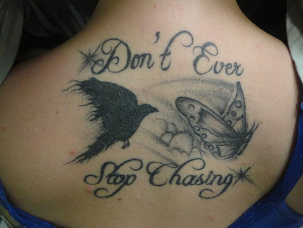 Stop Chasing – Crow Tattoo