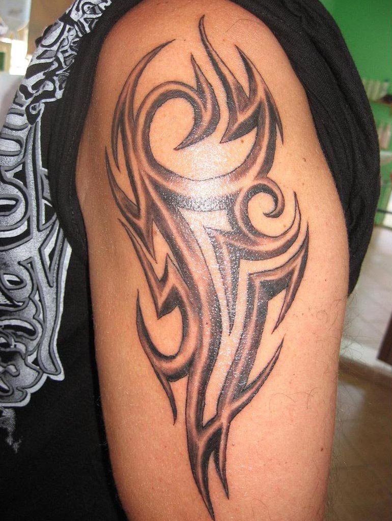 Stylish Tribal Sagittarius Tattoo On Arm For Boys In 2017 Real