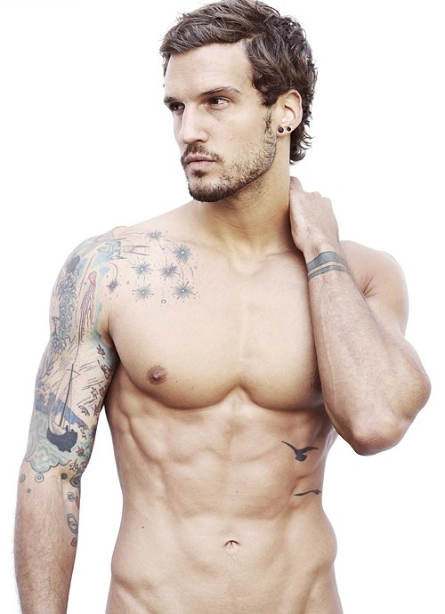 Terrific Right Muscles Tattoos For Men