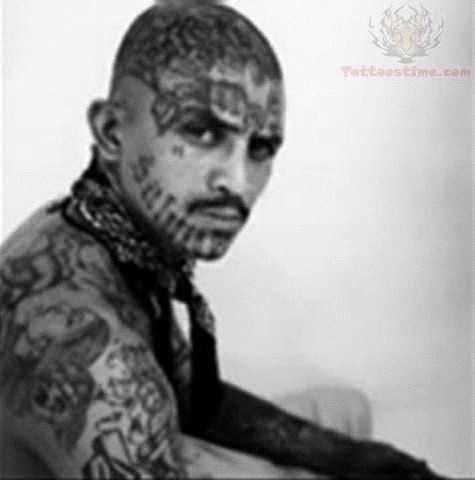 Thug Tattoos On Back