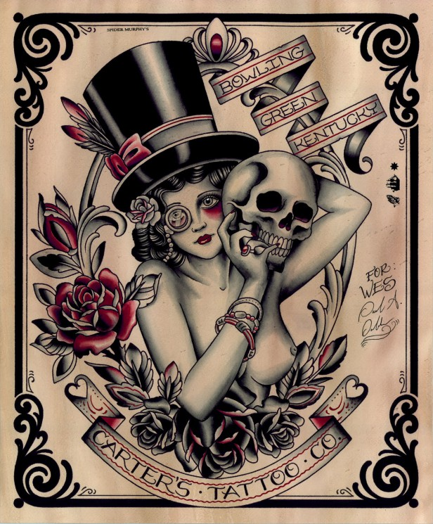 Traditional American Tattoo Poster