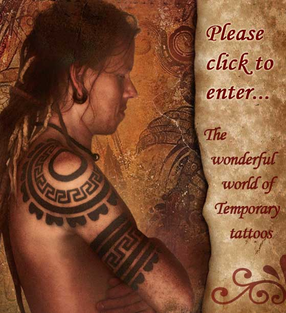 Traditional Indian Tattoo Design