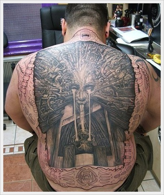 Traditional Tattoo Designs For Back