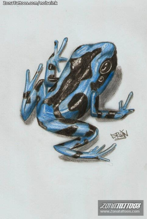 Treeborn Frog Tattoo Design