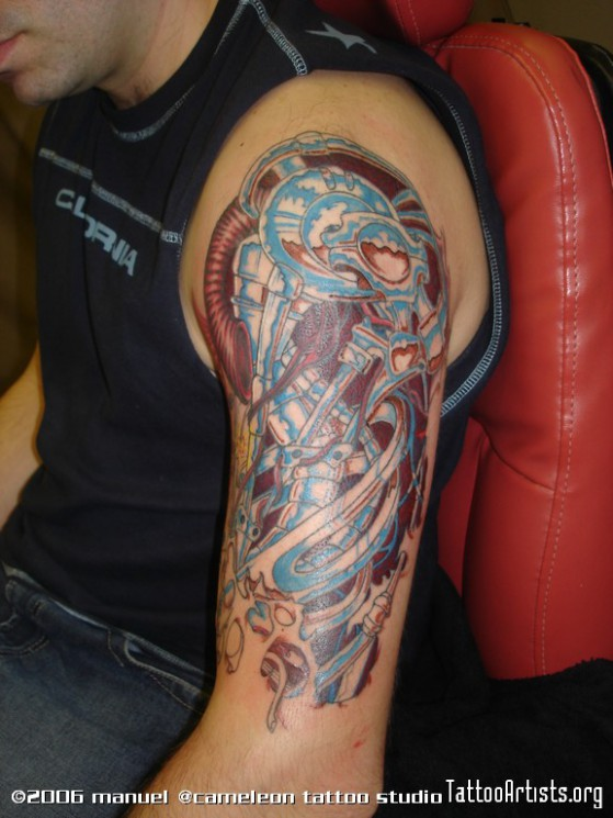 Tremendous Biomechanical Tattoo