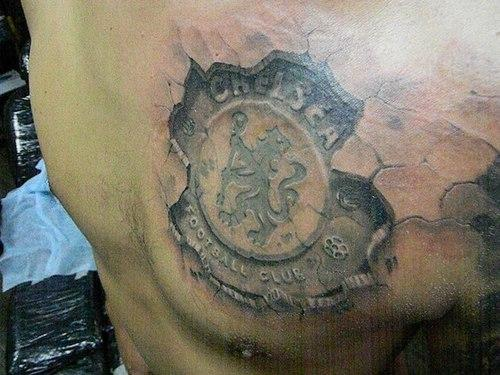 Tribal And Chelsea FC Chelsea Tattoo
