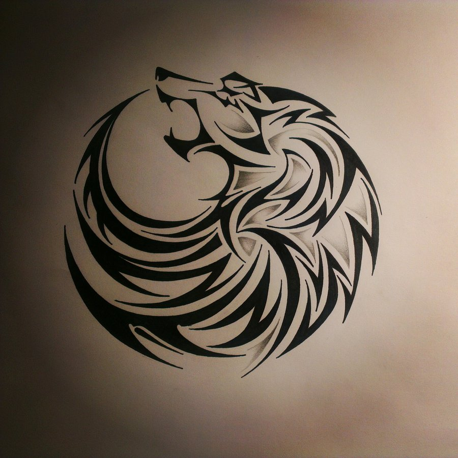 tribal horse and wolf tattoo design photo 2 2017 real photo pictures images and sketches. Black Bedroom Furniture Sets. Home Design Ideas