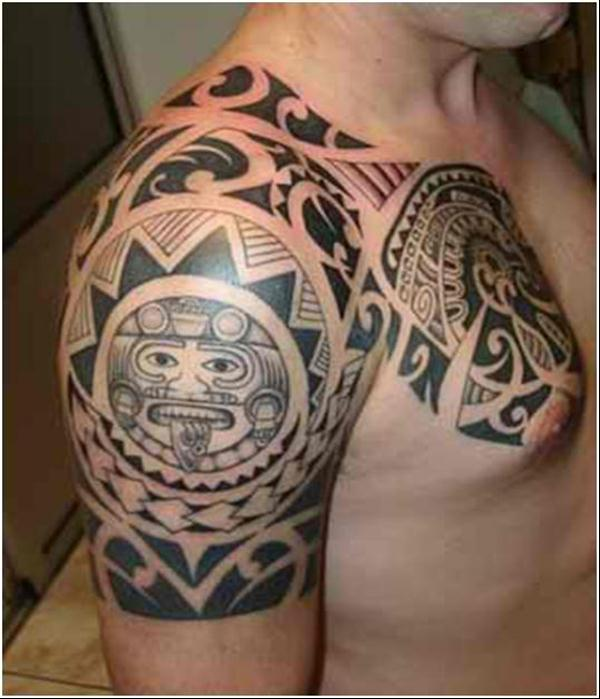 Tribal Monkey Tattoo On Upper Back In 2017 Real Photo Pictures