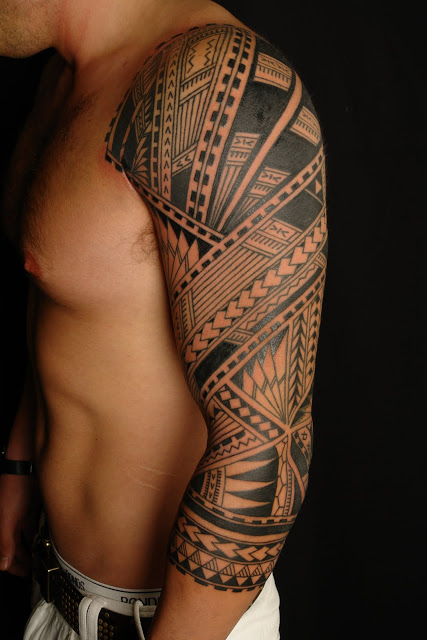 Tribal Seahorse Tattoo Style For Men