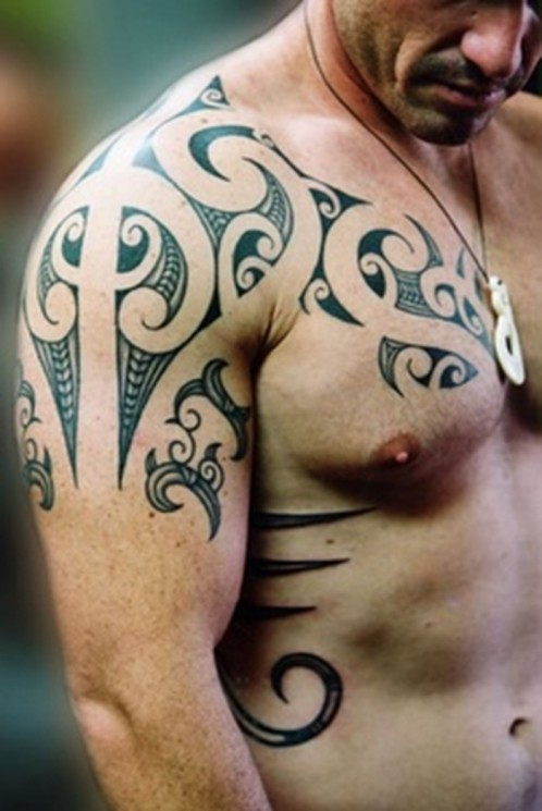 Tribal Tattoo Designs On Body For Dudes
