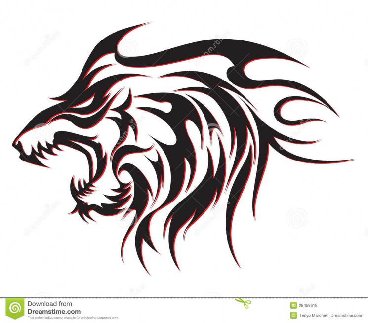 Tribal Wolf Tattoo For All