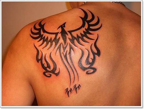 Truly Awesome Tribal Shoulder Tattoo