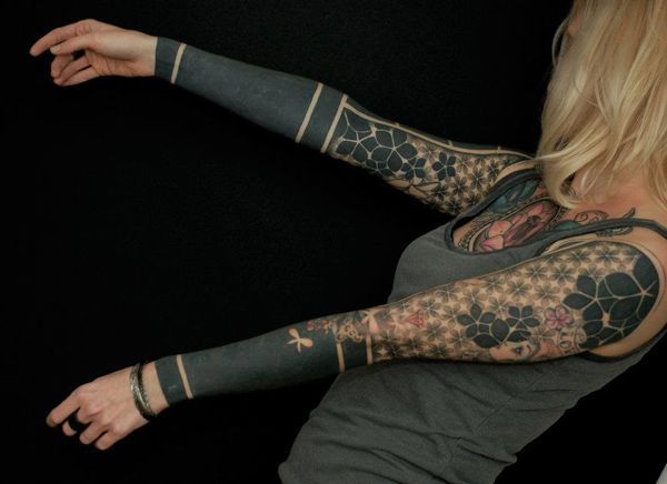 Truly Outstanding Samaon Sleeve Tattoo For Men