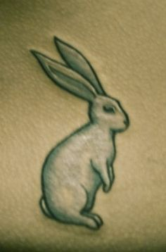 Try A New Chinese Rabbit Tattoo Design