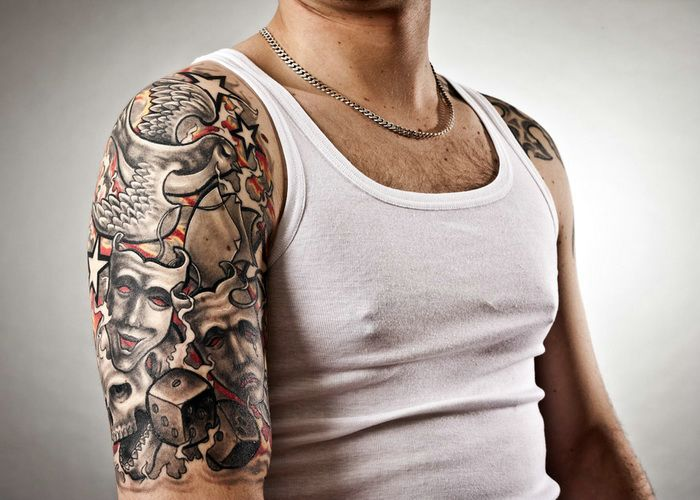 tumblr half sleeve tattoo for men photo 2 2017 real photo pictures images and sketches. Black Bedroom Furniture Sets. Home Design Ideas