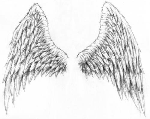 Two Skulls Wings And Sword Tattoo Design