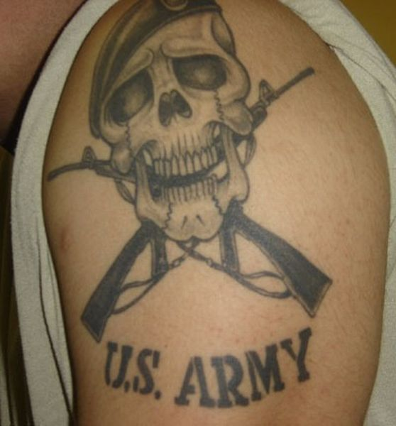 US Army Tattoo Picture