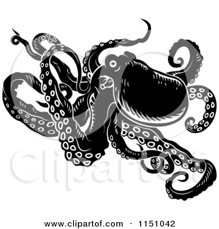 Unforgettable Octopus And Waves Tattoos On Outer Ankle