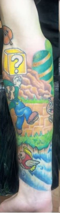 Unforgettable Video Game Tattoo