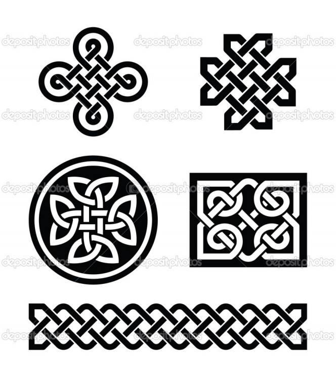 Vector Image Of Celtic Knot Tattoo Design