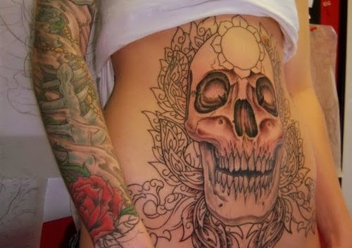 Video Game Tattoos On Full Stomach