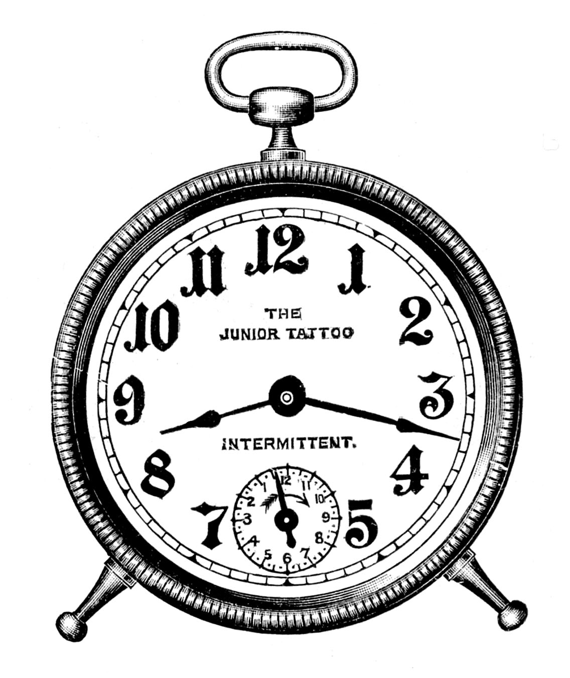 Vintage Alarm Clock Tattoo Design In 2017 Real Photo Pictures Images And Sketches Collections
