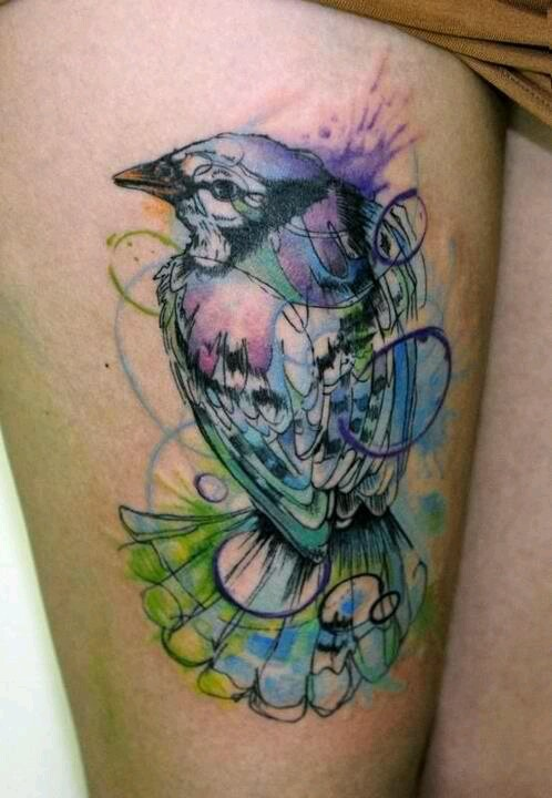 Watercolor Tattoo Pictures For Girls