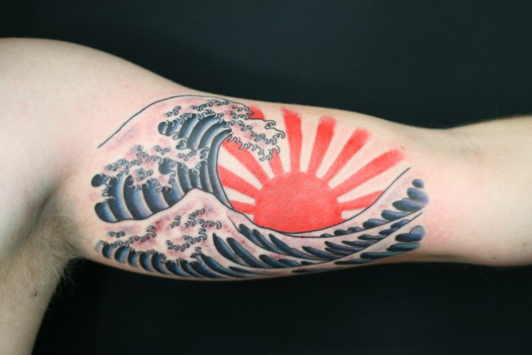 Wave Tattoo Print
