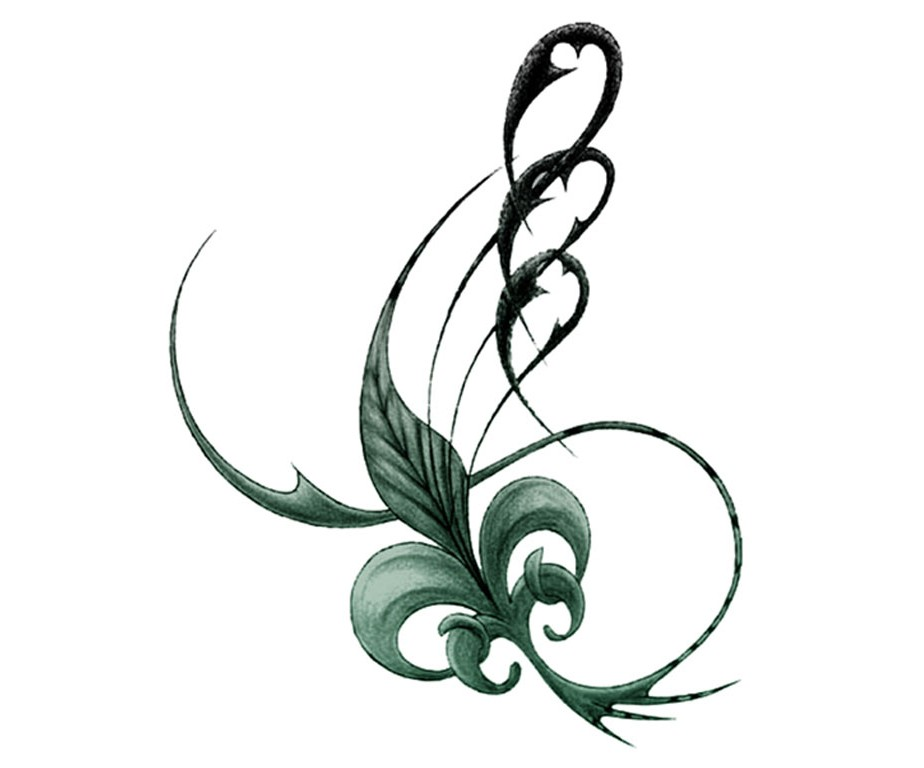 Whispering Leaf Tattoo Stencil In 2017 Real Photo Pictures Images And Sketches Tattoo Collections