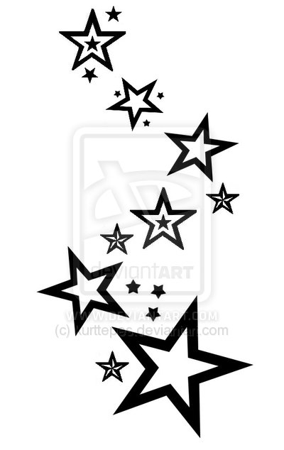 White and black star tattoo designs in 2017 real photo pictures all images to white and black star tattoo designs urmus Gallery