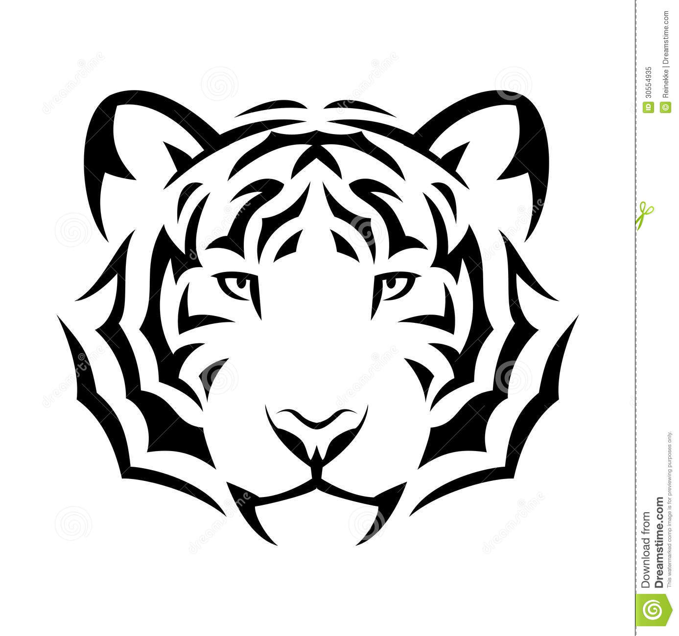 White Tiger Tribal Tattoo Design In 2017 Real Photo Pictures
