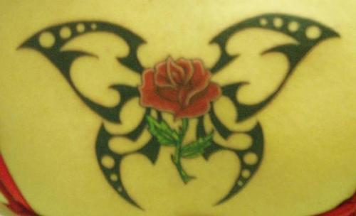 Winged Coffin Tattoo On Shoulder