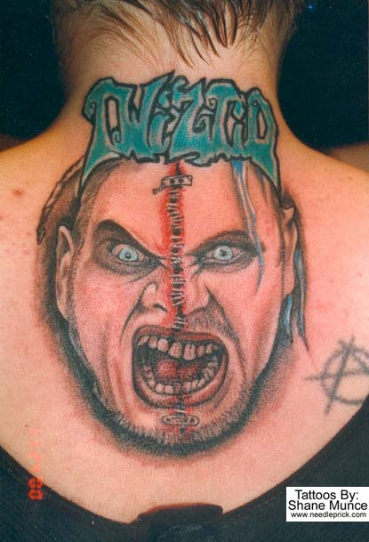 Without Color ICP Ring Master Tattoo Design