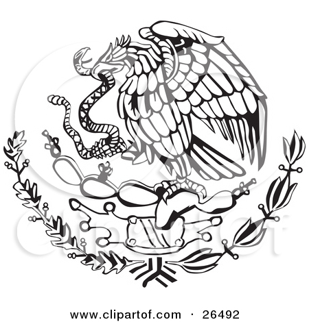 Without Eagle Tattoo Design