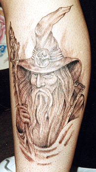 Wizard Tattoo Picture