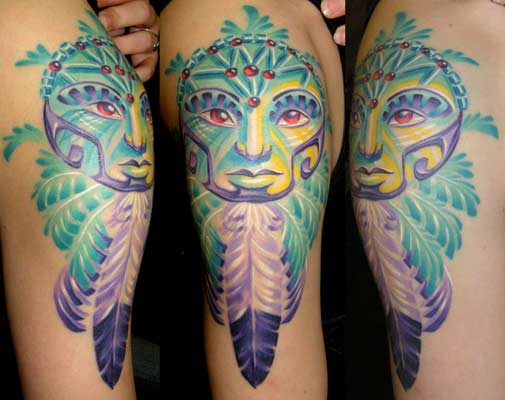 Wonderful Dream Catcher Tattoo Design