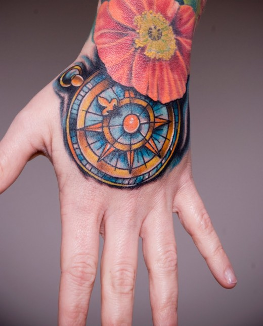 Wonderful Hand Tattoo Design